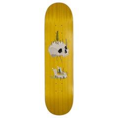 21st Century Skateboard Marcantonio Wood Inlay Scapin Yellow