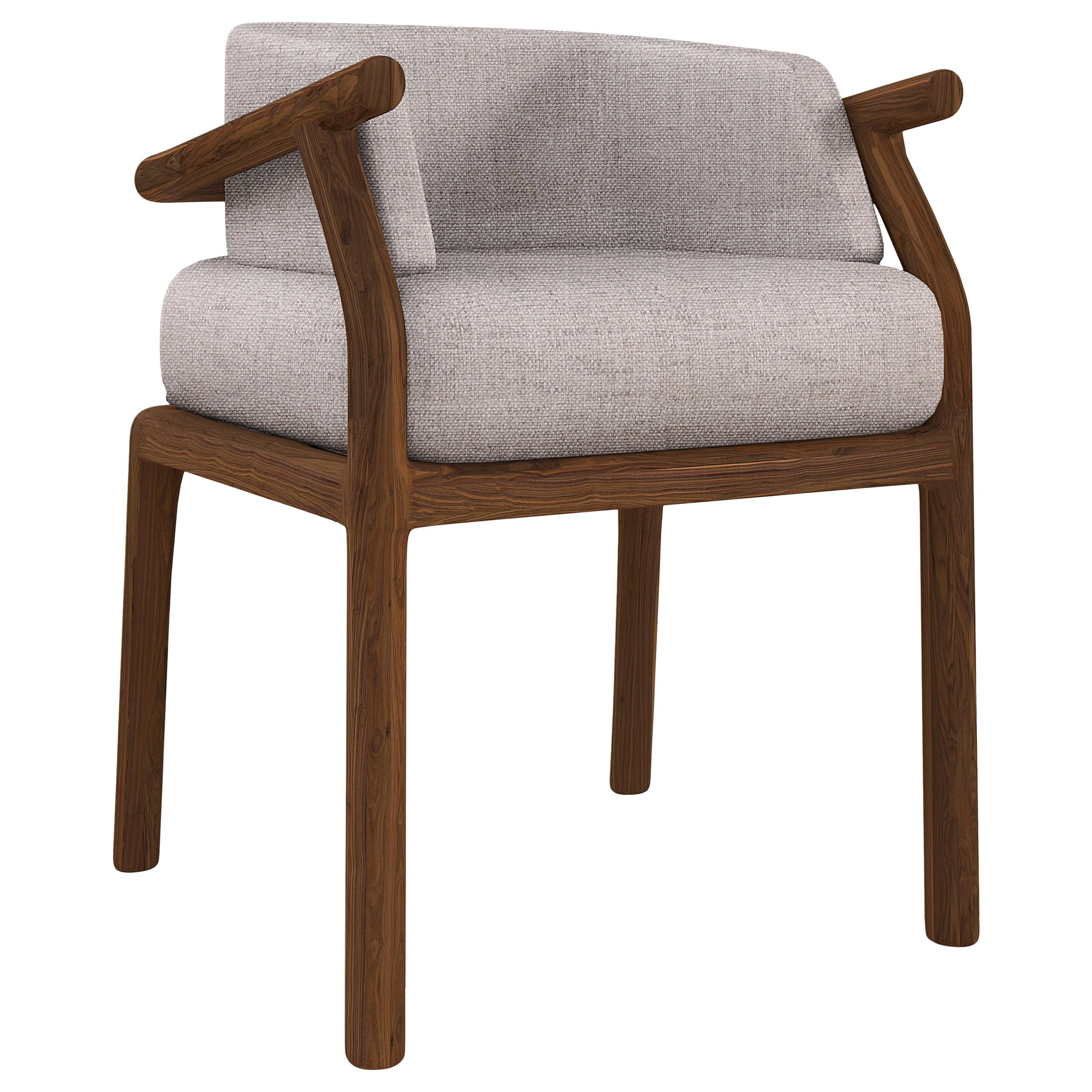 21st Century Stefan Dining Chair Walnut Wood