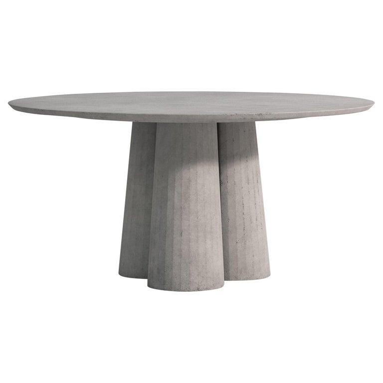 21st Century Studio Irvine Concrete, Round Table Irvine