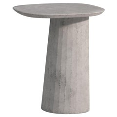 21st Century Studio Irvine Fusto Concrete Coffee Table Light Grey Cement Mod.II