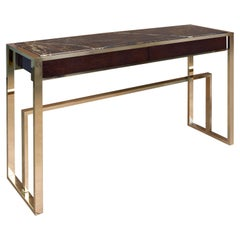 21st Century Sutter Console Marble