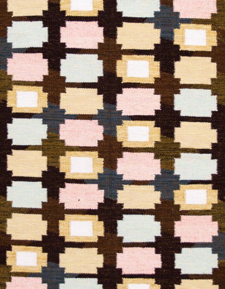 21st Century Modern Swedish-Style Wool Rug  For Sale 2
