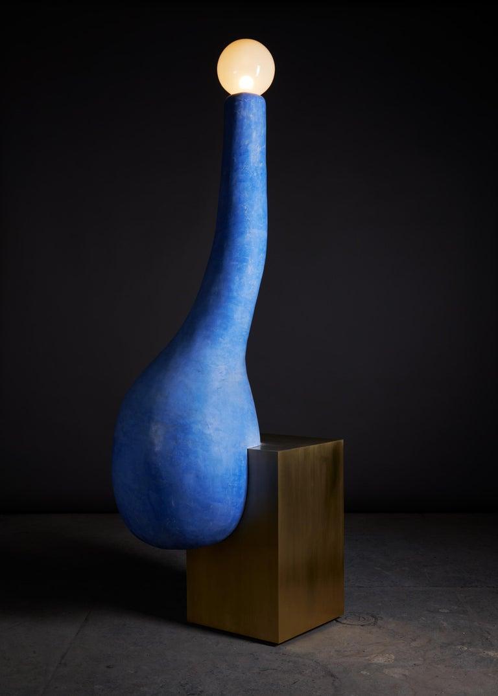 Contemporary floor lamp by J Mc Donald