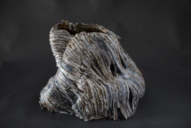 Contemporary glazed ceramic vase