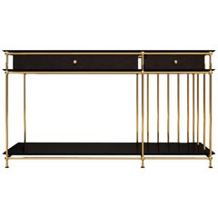 21st Century Vegas Console Lacquered Wood