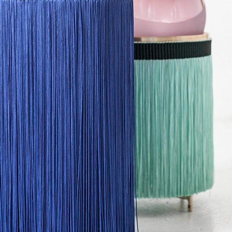 21st Century VI+M Studio Small Lamp Murano Glass Tripolino Fringe Various Colors For Sale 5