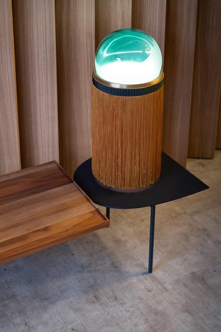 21st Century VI+M Studio Small Lamp Murano Glass Tripolino Fringe Various Colors For Sale 8