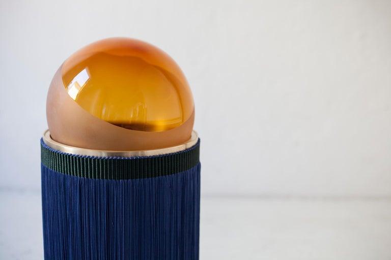 21st Century VI+M Studio Small Lamp Murano Glass Tripolino Fringe Various Colors For Sale 2