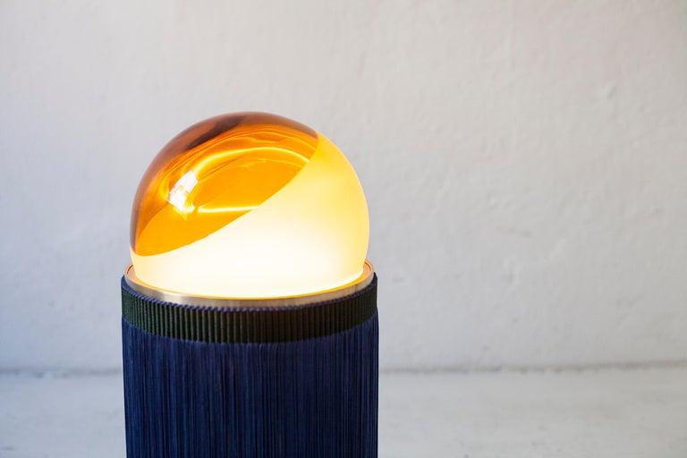 21st Century VI+M Studio Small Lamp Murano Glass Tripolino Fringe Various Colors For Sale 3