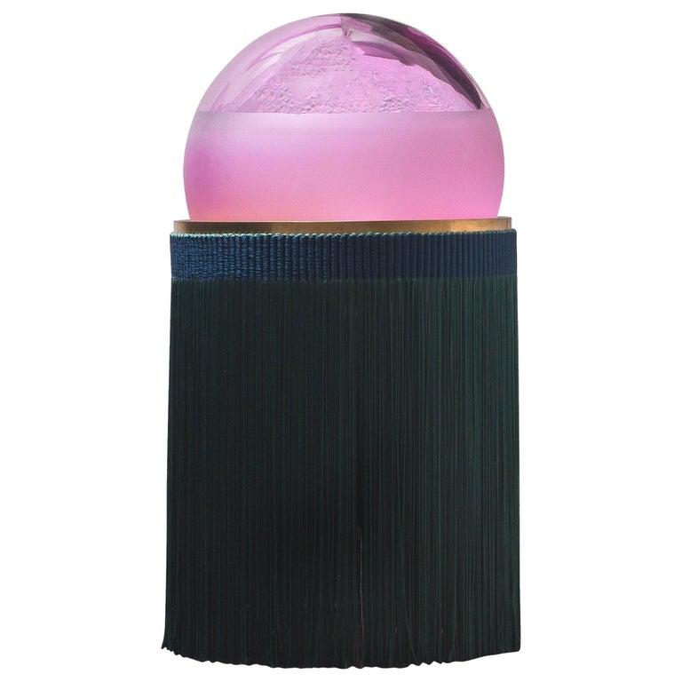 21st Century VI+M Studio Small Lamp Murano Glass Tripolino Fringe Various Colors For Sale