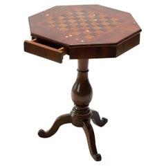 21st Century Vintage Marcantonio Unique Piece Side Coffee Tables Inlay Wood