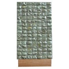 "21st Ceramic Room Divider ""Melon Skin"" by Rem Atelier Organic Wood"