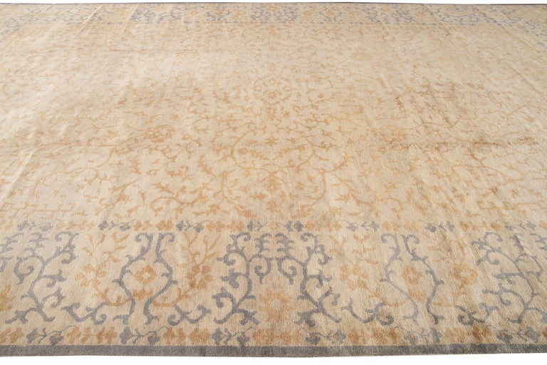 21st Century Contemporary Oversize Wool Rug For Sale 4