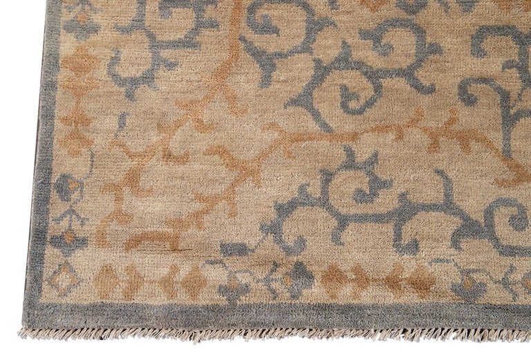 21st Century Contemporary Oversize Wool Rug For Sale 5