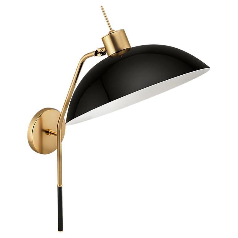 21th Century Brass NoHo Wall Lamp Designed by Creativemary