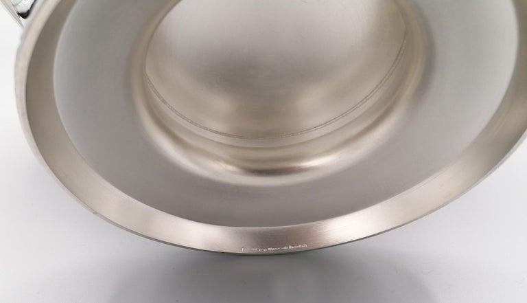 21th Century Italian Sterling Silver Gianmaria Buccellati Caviar Bowl For Sale 5