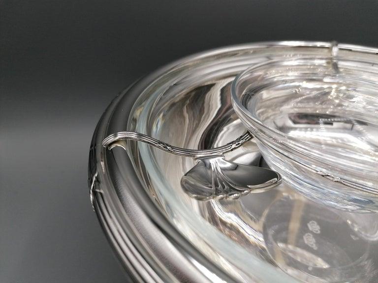 Contemporary 21th Century Italian Sterling Silver Gianmaria Buccellati Caviar Bowl For Sale