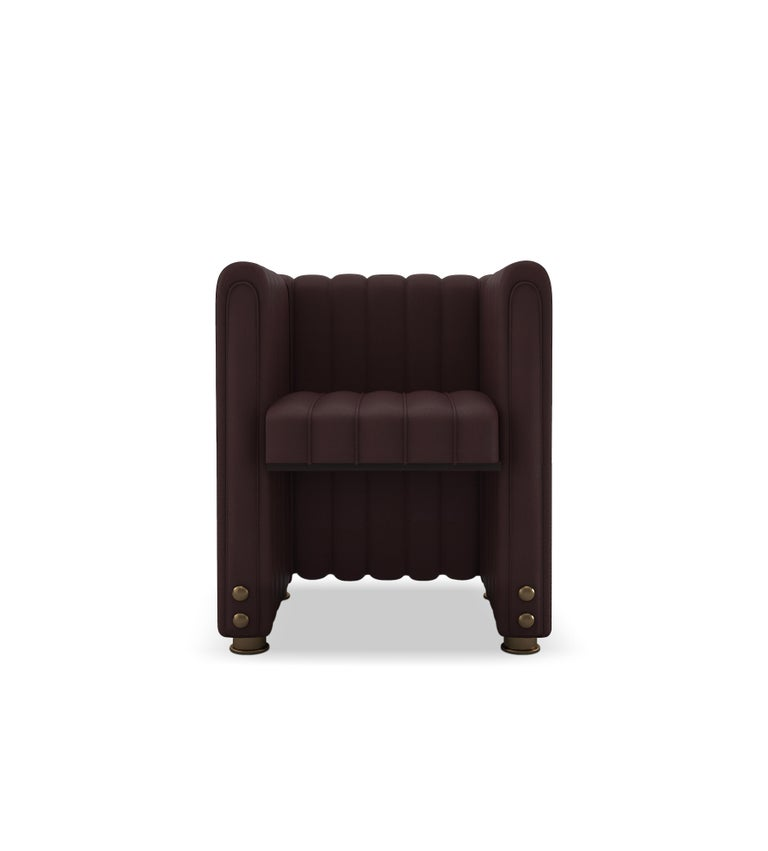 Taking your luxurious home décor to the next league, Inglewood dining chair evokes the glorious venue where many events, from sports to music, are celebrated in Inglewood, California. With its groundbreaking structure, the arena itself is intended