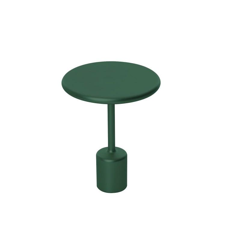 21th Century Maddalena Casadei Tavolotto Accessory Table Metal Black Matte For Sale 4