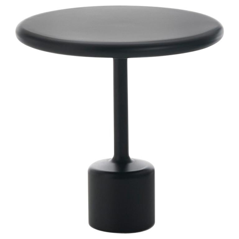 "FUCINA ""TAVOLOTTO"" by Maddalena Casadei Accessory Table Metal Black Matte"