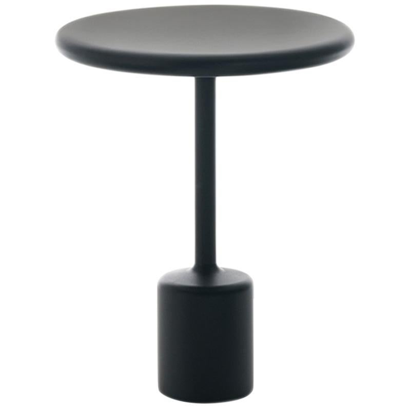 "FUCINA ""TAVOLOTTO"" Maddalena Casadei Side Coffee Table Metal Black Matte"