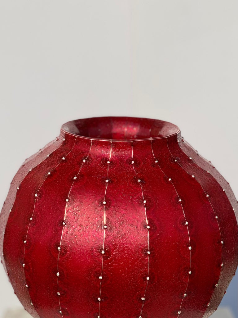 21th Century Sculptural Vase