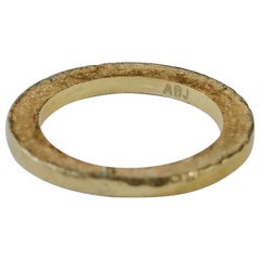 22K Recycled Gold Bridal Wedding Ring Alternative Stacking Fashion Design