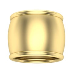 22 Karat Gold Ring by Romae Jewelry Inspired by Ancient Roman Designs