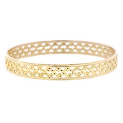 22 Karat Yellow Gold Bangle Bracelet