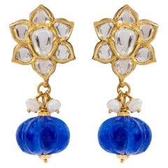 Anglo-Indian Earrings