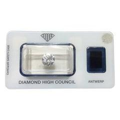 2.23 Carat HRD Certificate White Color Round Shape Diamond