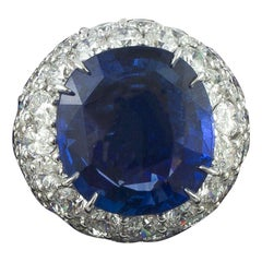 Diamond Cluster Rings