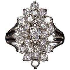 2.25 Carat Cocktail Diamond Ring