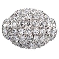 2.25 Carat Diamond Dome Ring