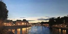 """Paris is always a good idea"", Painting, Oil on Canvas"