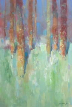Marble Forest, Painting, Oil on Canvas