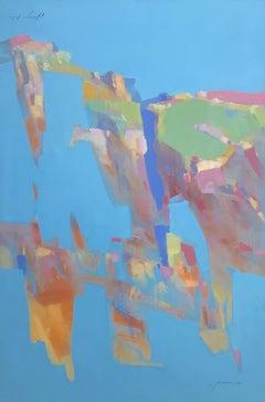 Blue Rocks, Painting, Oil on Canvas