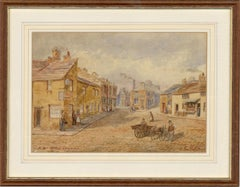Late 19th Century Watercolour - A Bit Of Old Keighley
