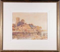 Joseph Kirkpatrick  (1872-1936) - Early 20th Century Watercolour, Riverside