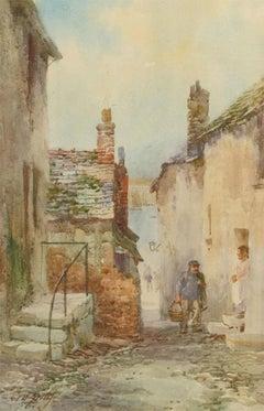 William Henry Sweet (1889-1943) - Watercolour, Fisherman Returning Home