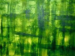 Greenwood, Painting, Acrylic on MDF Panel