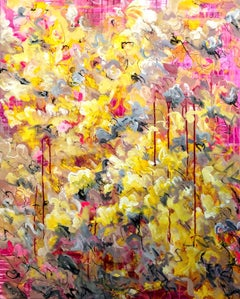Bloom!, Painting, Acrylic on Canvas