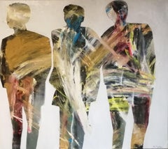 3FRIENDS, Painting, Oil on Canvas