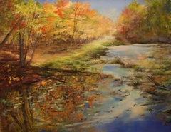 Fall Kaleidoscope, Drawing, Pastels on Pastel Sandpaper