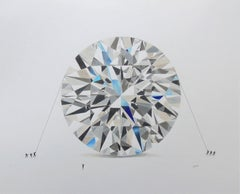 White Diamond, Drawing, Pencil/Colored Pencil on Paper