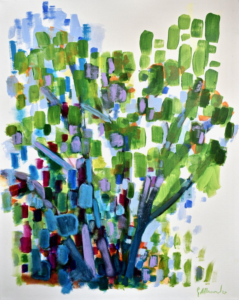 Geoff Howard Abstract Painting - Nature: Exterior Painting 2, Painting, Acrylic on Canvas
