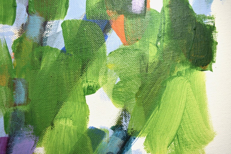 Nature: Exterior Painting 2, Painting, Acrylic on Canvas For Sale 1