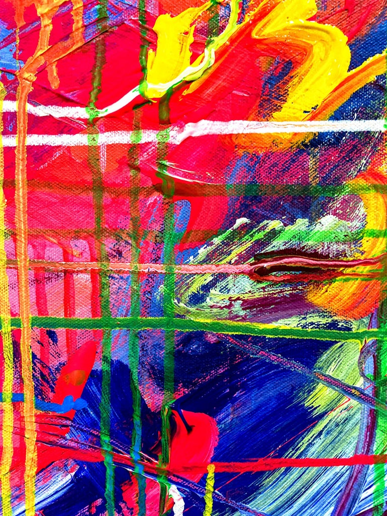 Beyond Consciousness, Painting, Acrylic on Canvas For Sale 2