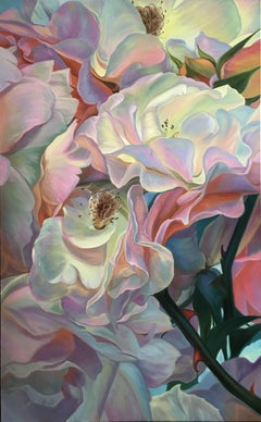 Roses, Painting, Oil on Canvas