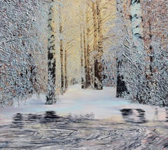 White Gold, Painting, Oil on Canvas